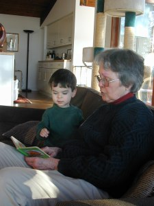 Stories, reading, grandmother