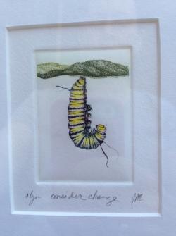 Intaglio etching by J. Ann Eldridge
