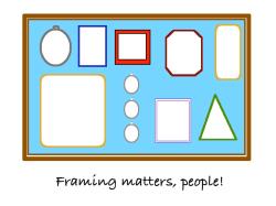 Framing, people!